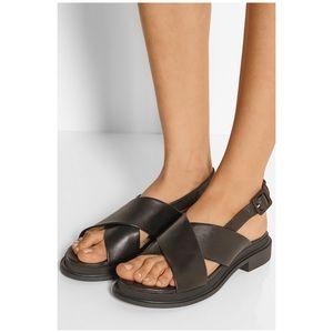 Robert Clergerie Caliente Criss Cross Sandals
